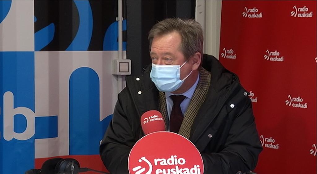 """Zupiria: """"La nota de la ciudadanía a la gestión del Gobierno en la pandemia nos obliga a reconocer y agradecer su confianza en las instituciones"""" [20:38]"""