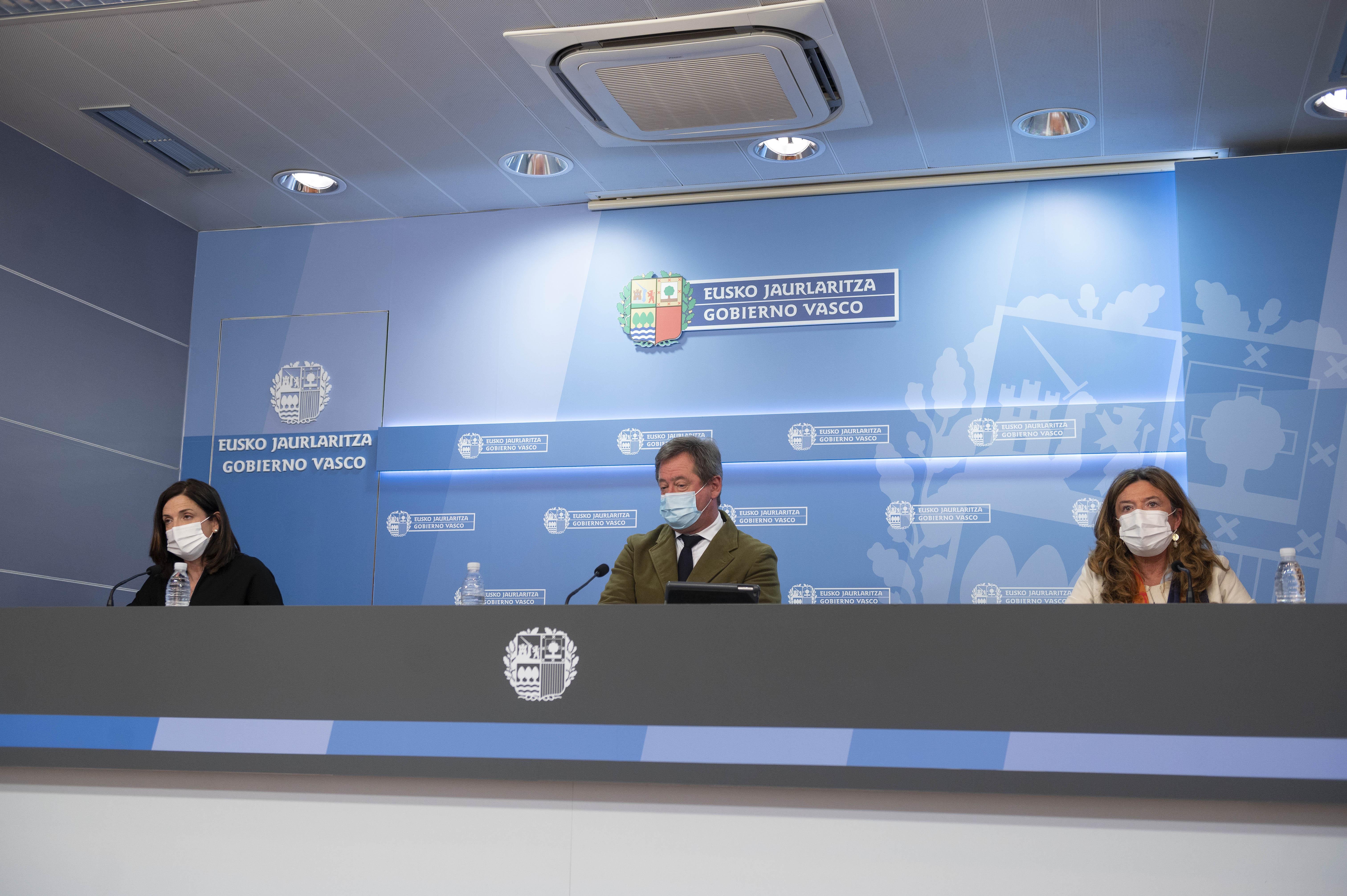 Eusko Jaurlaritzak Astrazenecarekiko lasaitasun mezua berretsi du eta Euskadin txertaketa kanpainak aurrera jarraitzen duela adierazi du [23:22]