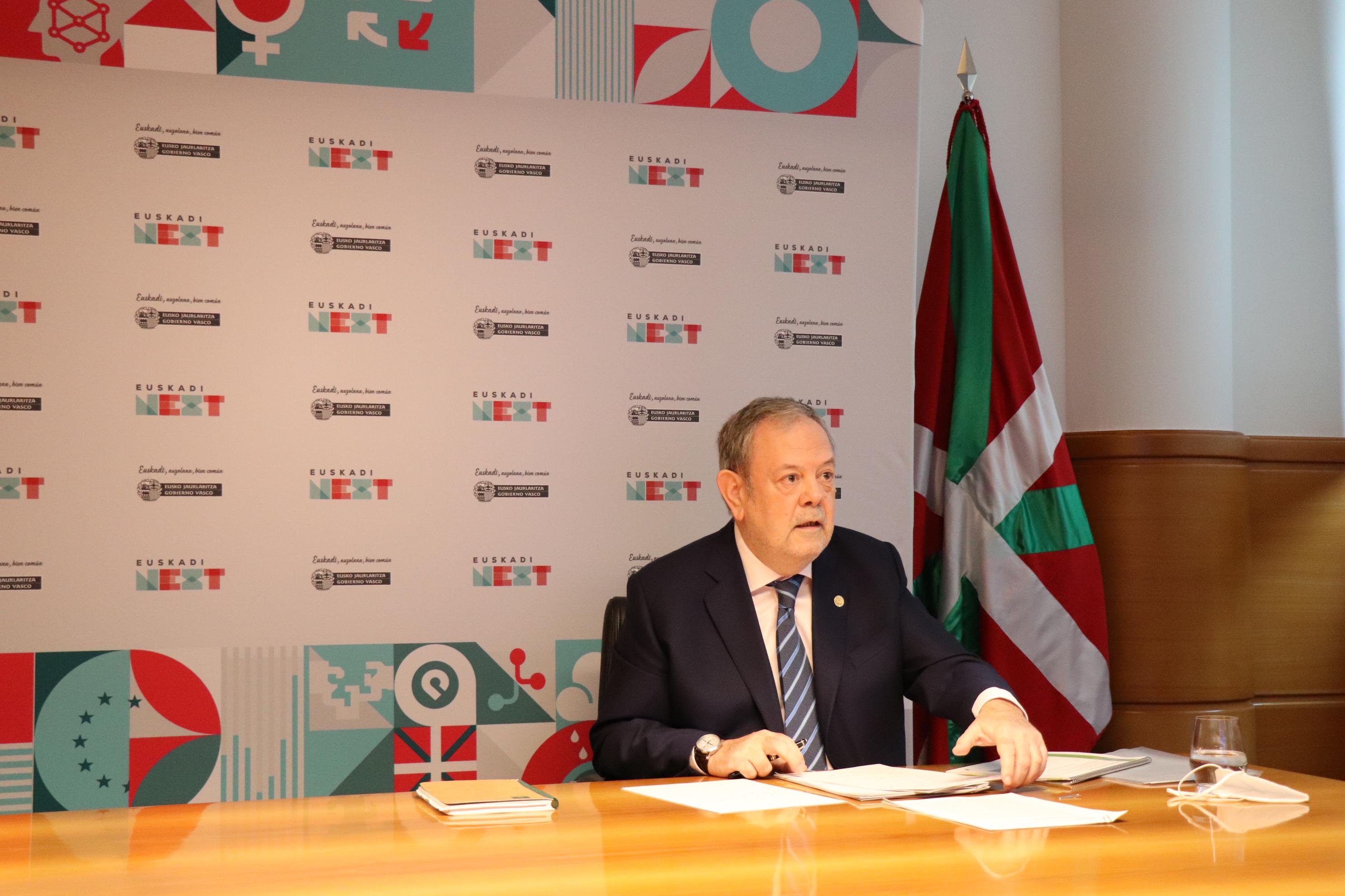 Pedro Azpiazu interviene de manera telemática en el Fórum Europa-Tribuna Euskadi [53:29]