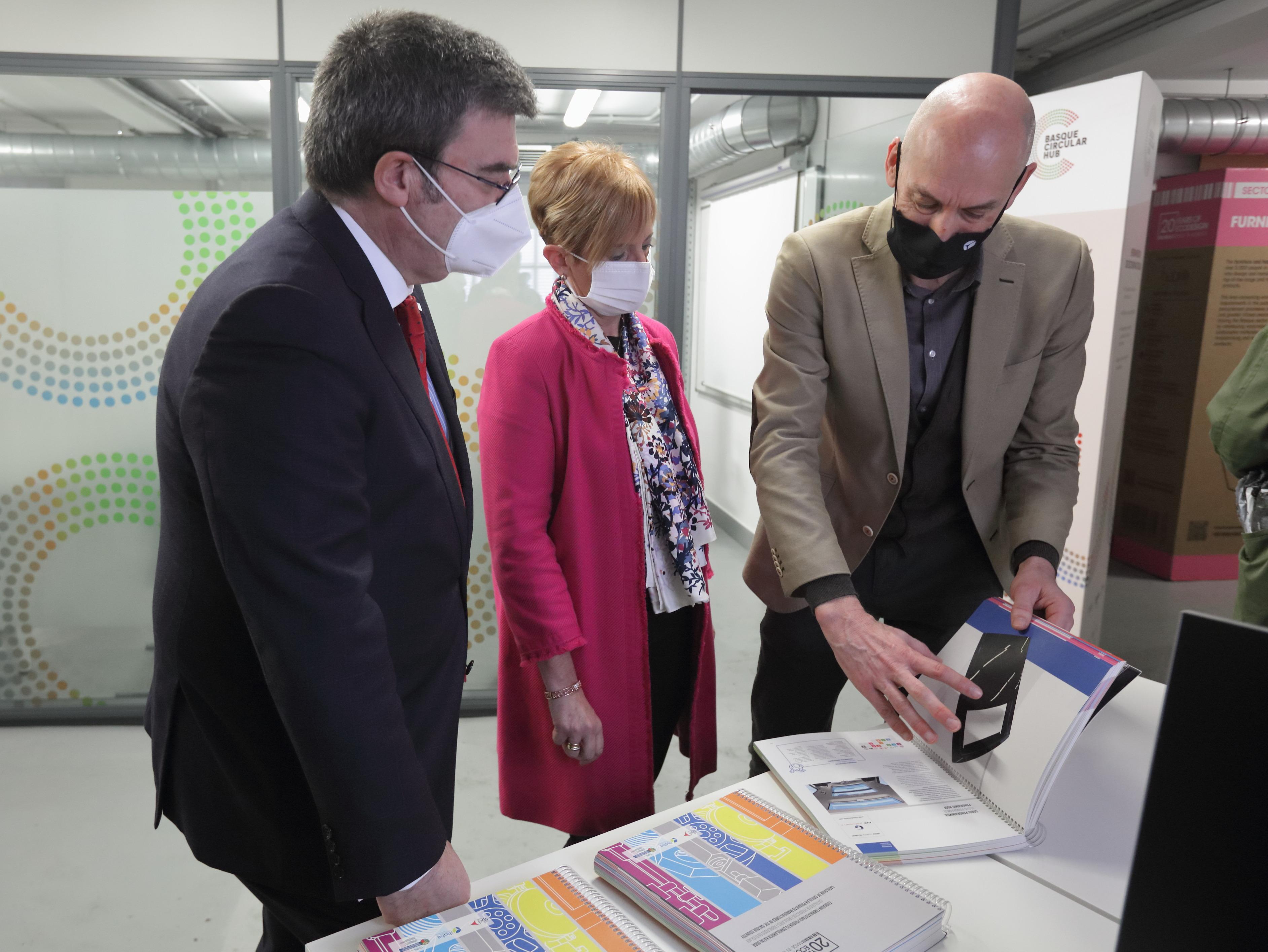 El Gobierno Vasco y el Ayuntamiento de Bilbao crean el primer centro de servicios avanzados de economía circular del Sur de Europa  [18:25]