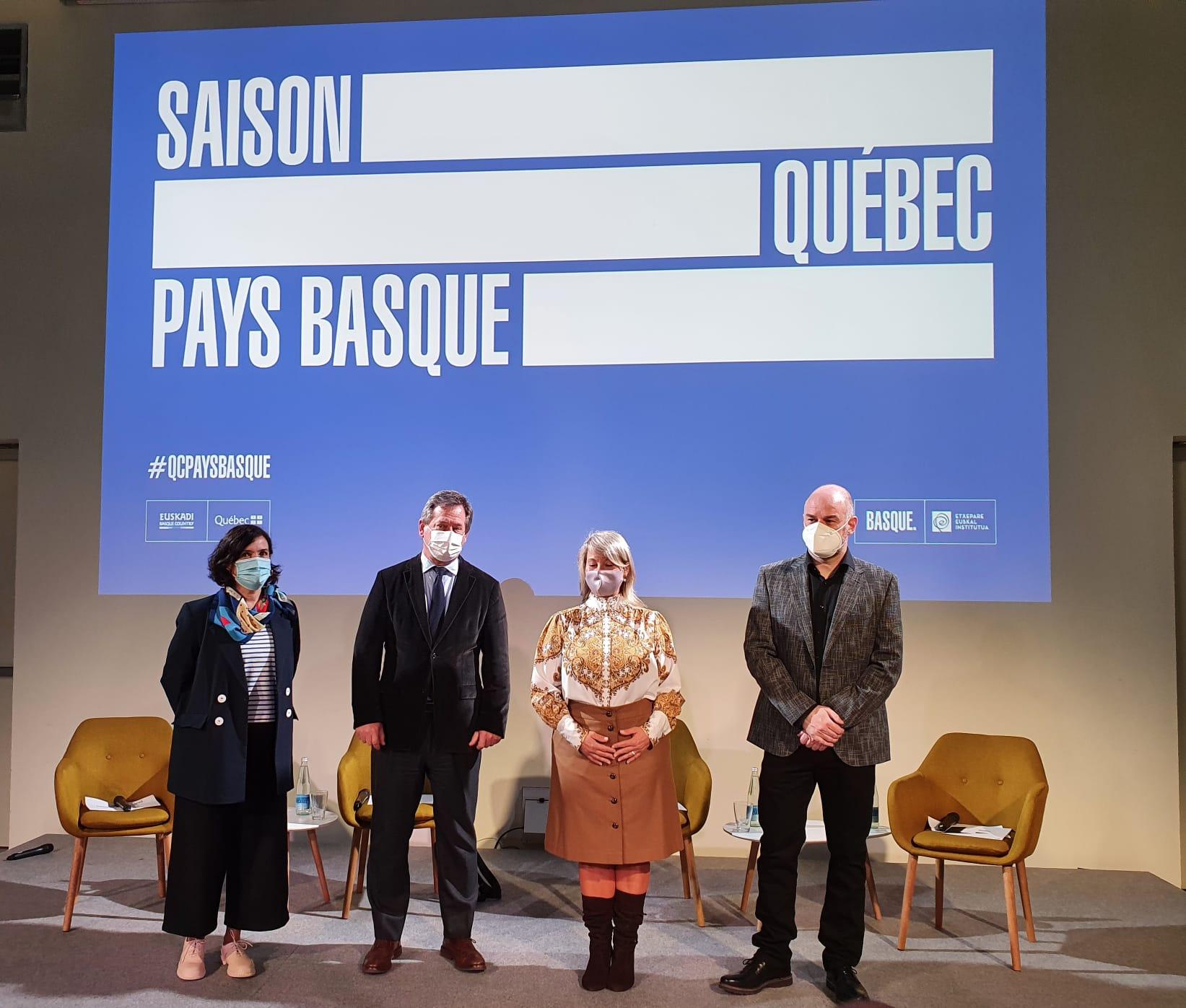 Euskal eta quebectar zinema ziklo trukaketa batek emango dio hasiera Saison Québec – Pays Basque egitasmoari [26:46]