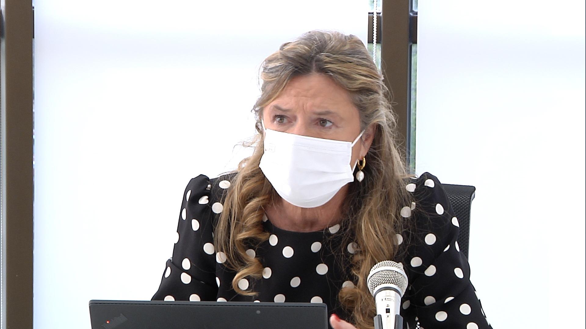 Gotzone Sagardui solicita máxima prudencia en una situación sanitaria preocupante y que mantiene su tendencia al alza [22:18]