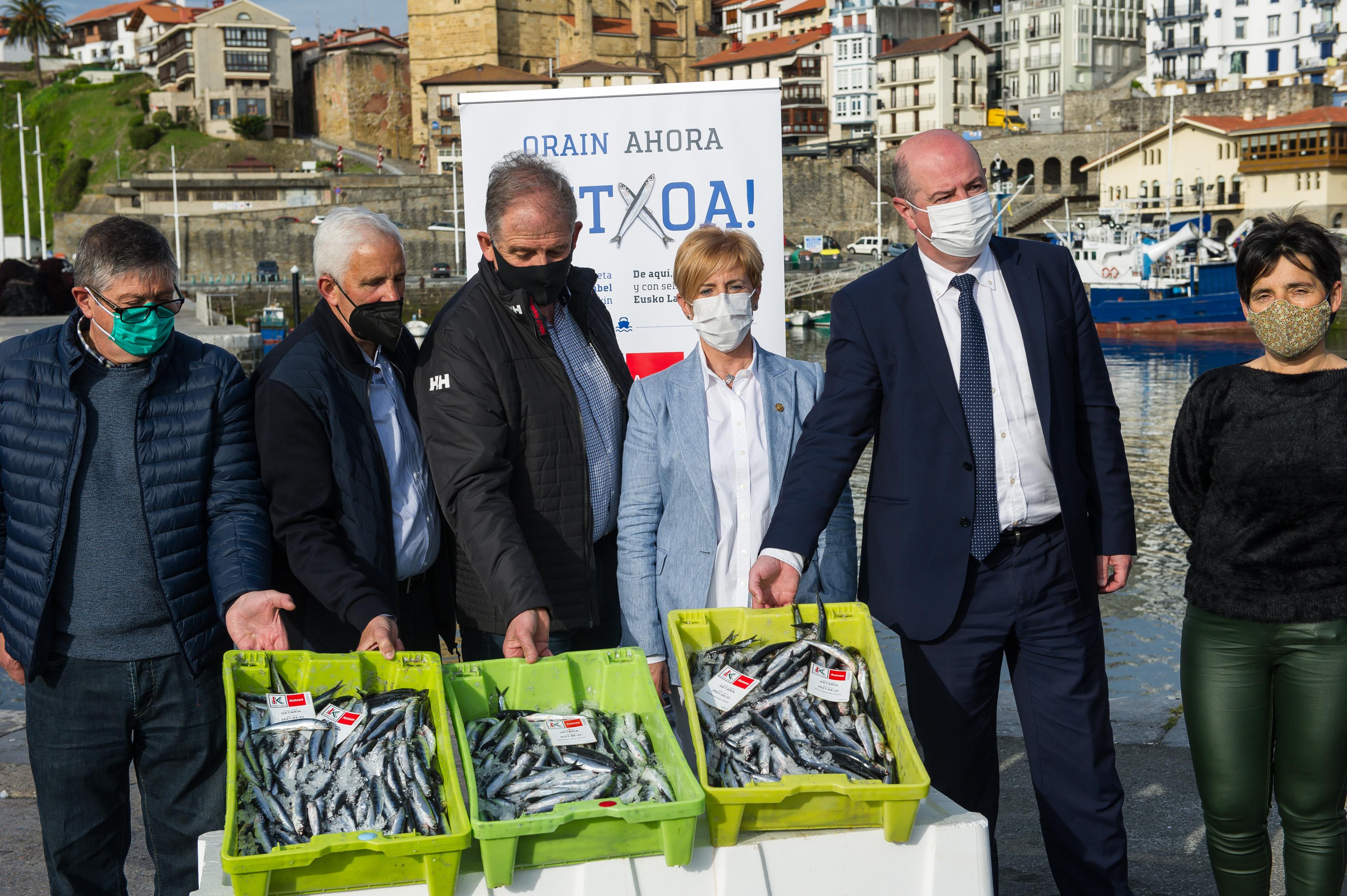 Eusko Label duen Antxoa Euskadiko kalitate ziurtatuko produktuen familian sartu berri da [8:59]
