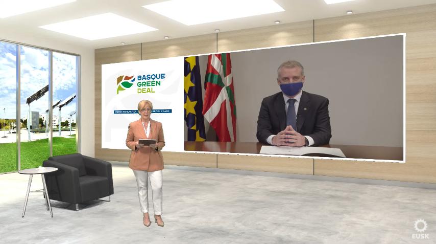 Basque Green Deal, el modelo vasco para un desarrollo económico justo y sostenible   [53:59]