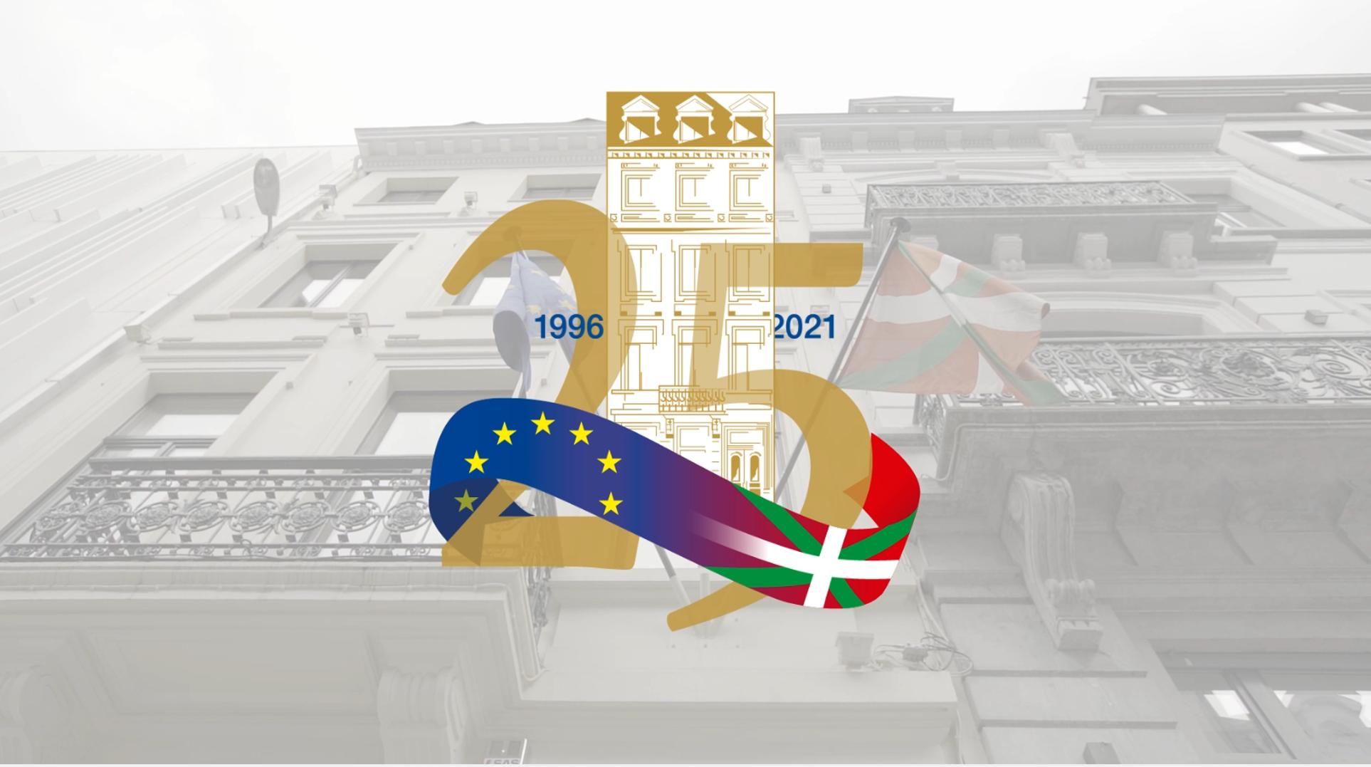 25 años de la inauguración de la Delegación de Euskadi para la Unión Europea [3:53]
