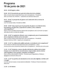 """Curso de verano: """"La voz de la mujer ante los retos actuales del derecho de la competencia"""""""