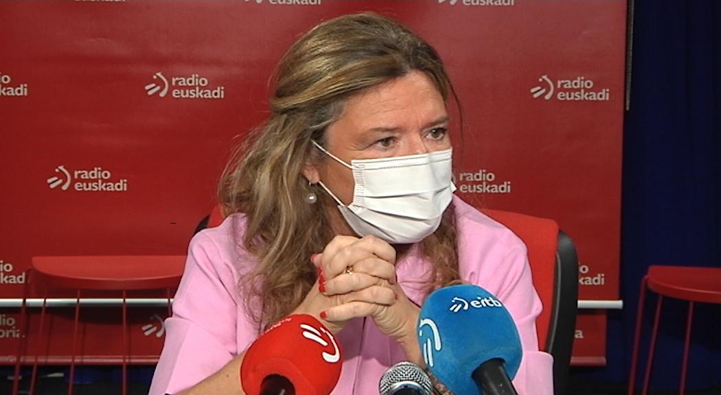"""Gotzone Sagardui: """"Hoy superaremos el ansiado millón de personas vacunadas, con al menos una dosis, en Euskadi"""" [31:36]"""