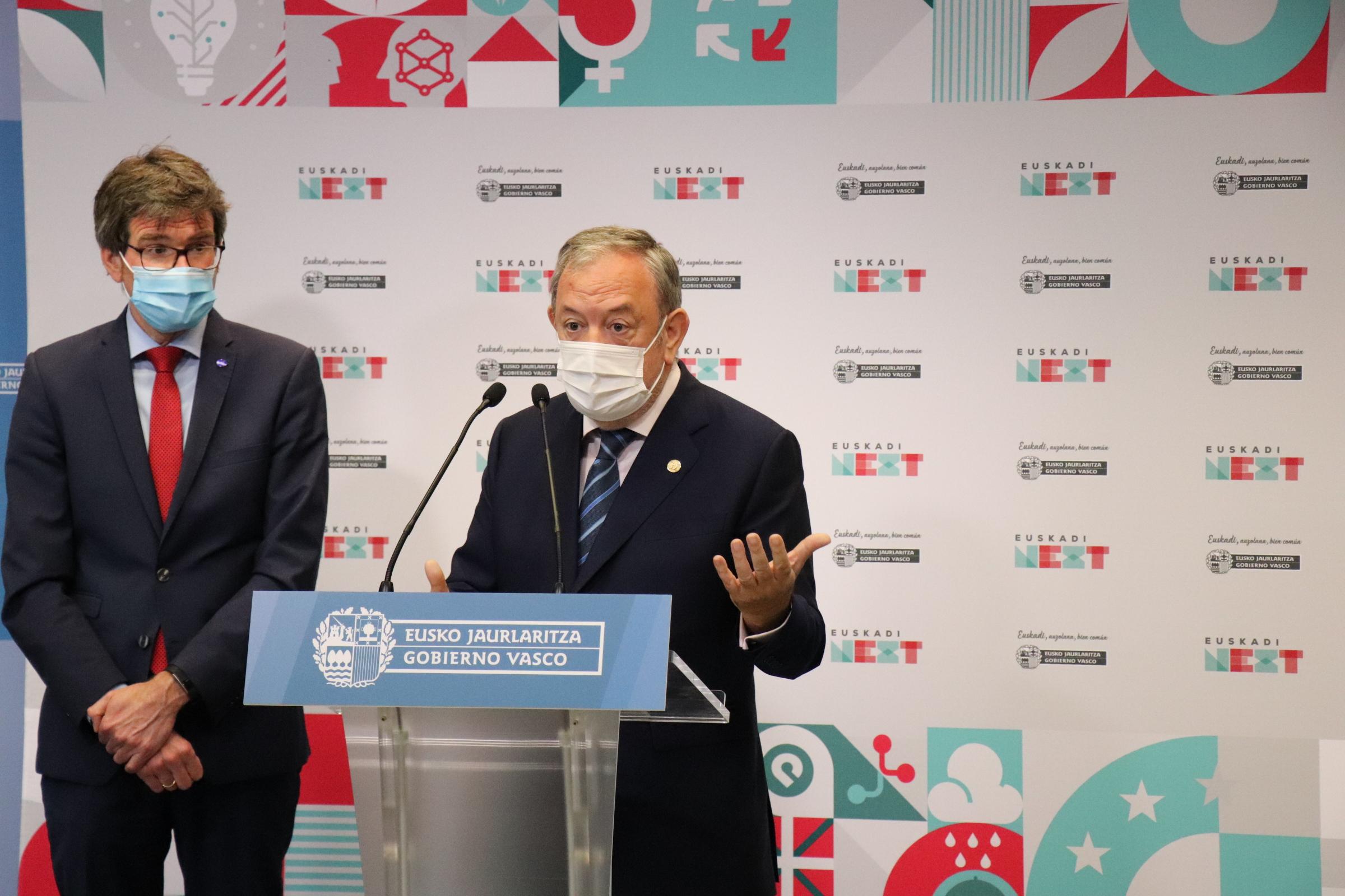 Gobierno Vasco y EUDEL establecen un cauce de colaboración estable para el programa Euskadi Next [18:40]