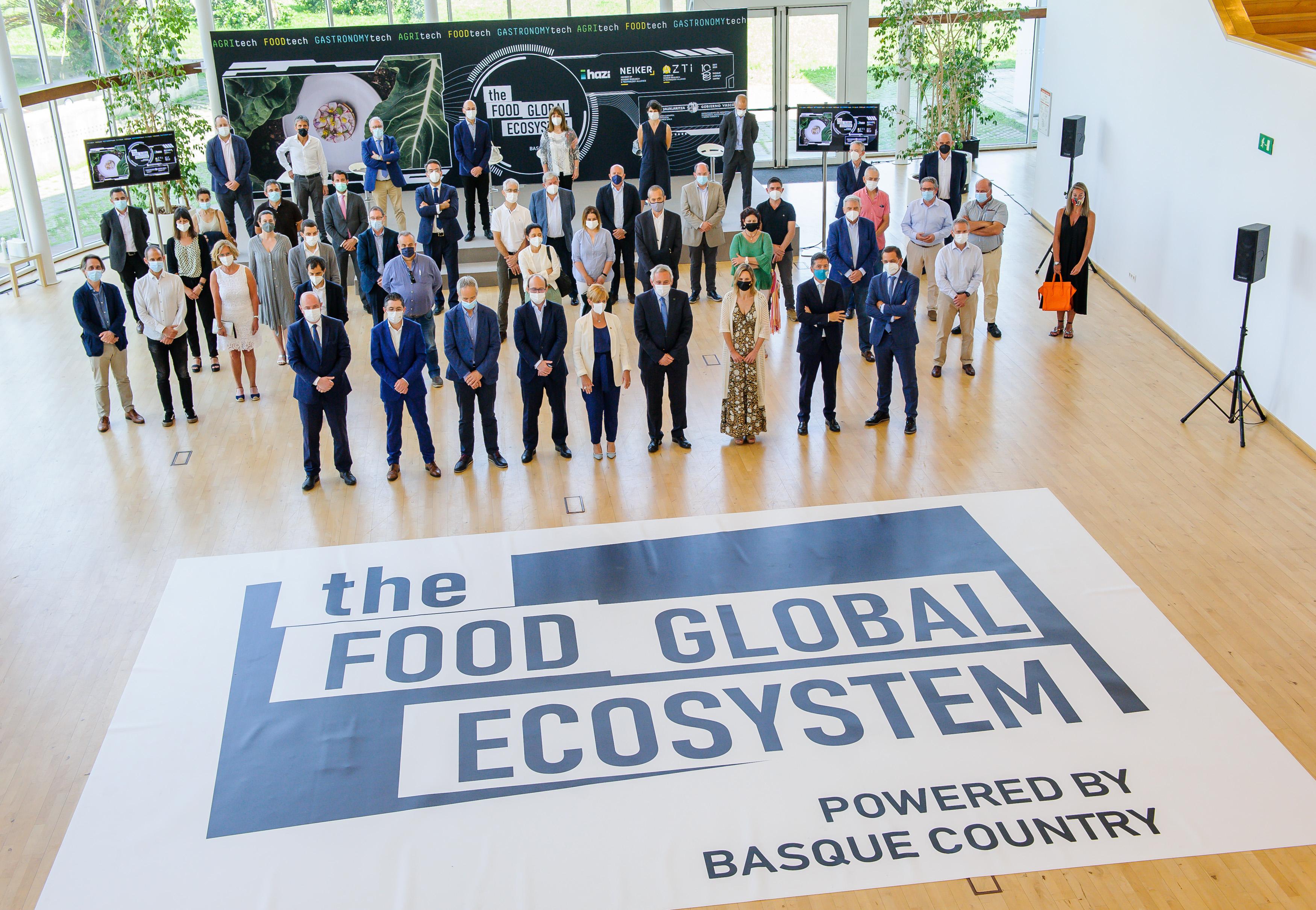 """""""The FOOD GLOBAL ECOSYSTEM"""" proiektuarekin elikadura berritzailerako ekosistema egokiena bezala aurkeztu da Euskadi [19:03]"""