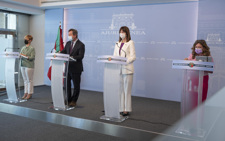 El Gobierno aprueba el decreto de estructura de Lanbide para convertirlo en un instrumento más eficaz al servicio de la ciudadanía [57:14]