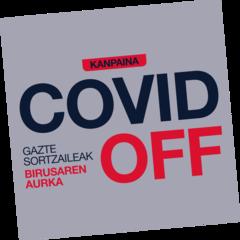 La campaña COVID OFF reúne 120 vídeos de alumnos y alumnas en eitb.eus
