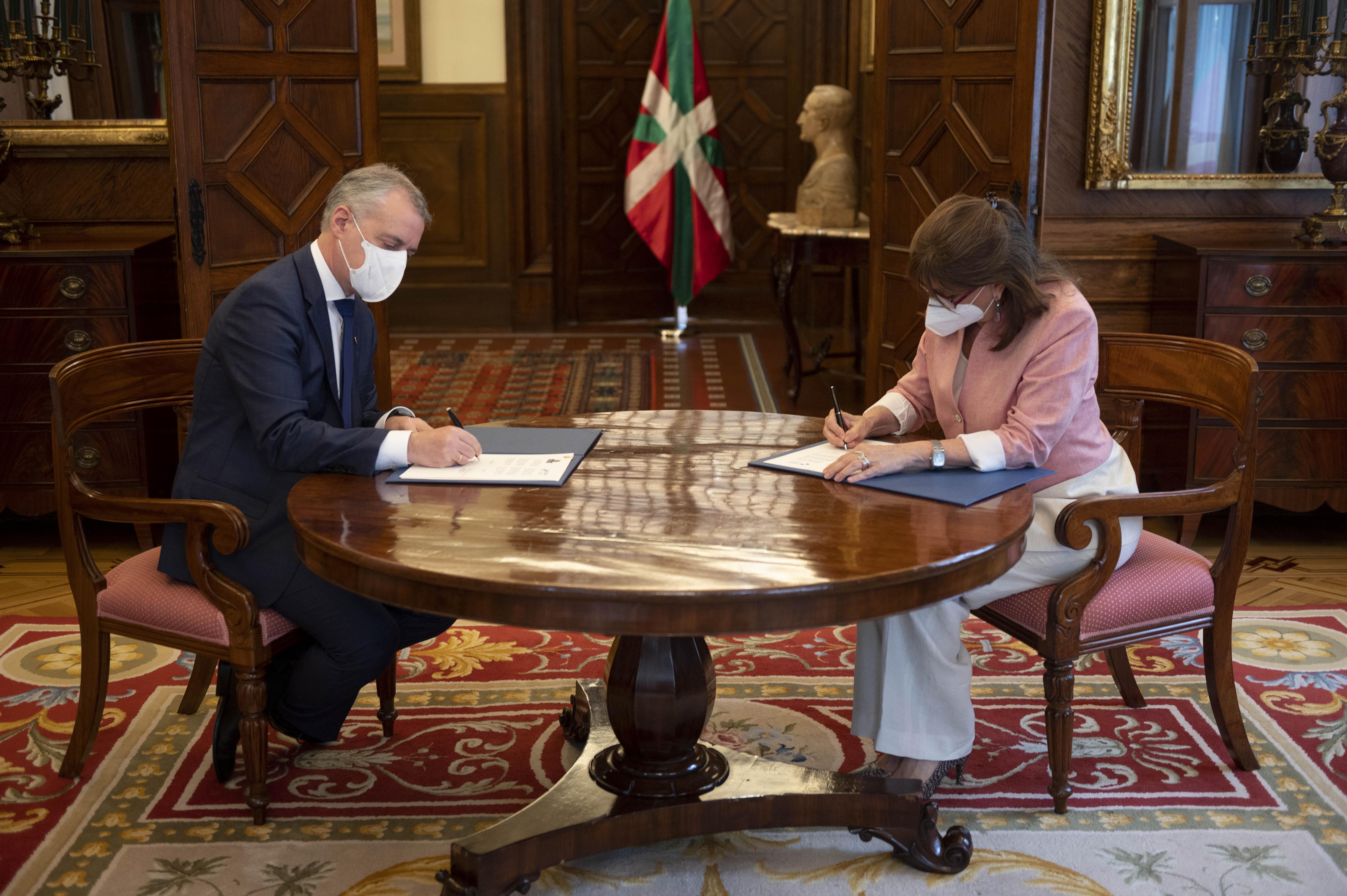 El Gobierno Vasco y la Secretaría General Iberoamericana colaborarán para desarrollar la Agenda 2030 [2:04]