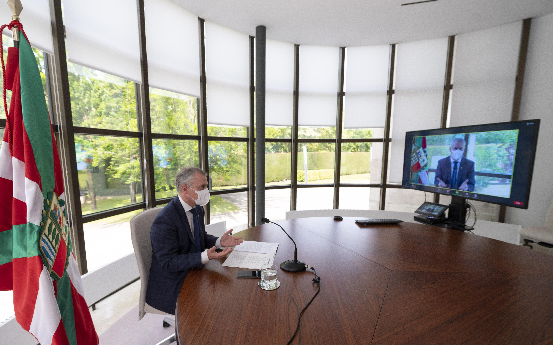 """El Lehendakari presenta el avance de la Agenda 2030 en Euskadi en el Foro de Regions4 """"Construyendo un futuro sostenible y resiliente""""  [6:29]"""