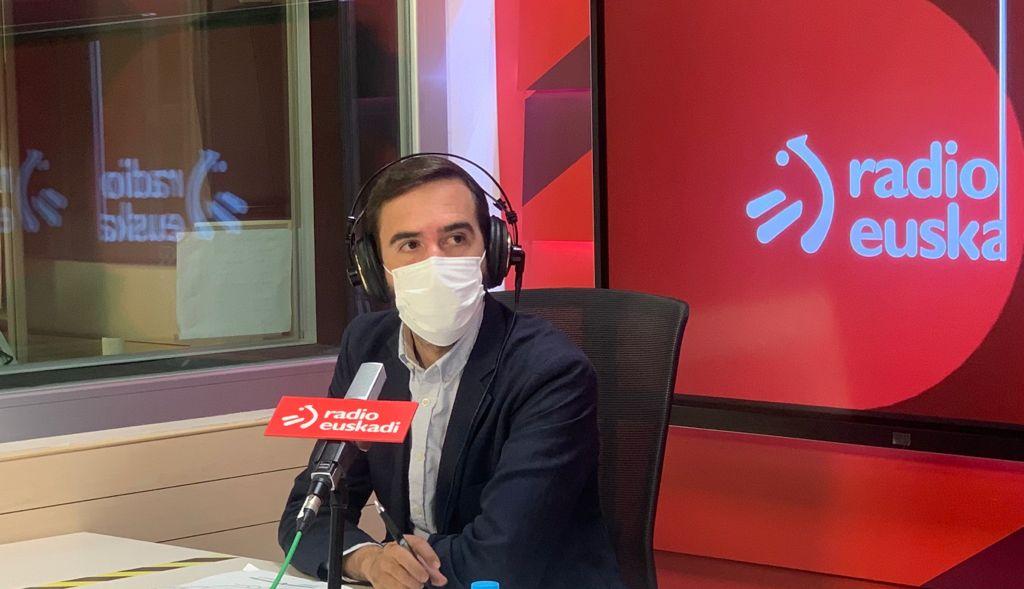 """Javier Hurtado sailburua Radio Euskadin: """"Euskadi helmuga segurua da"""" [23:38]"""