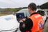 Un barco del centro científico-tecnológico AZTI se incorpora a las labores de búsqueda del buzo de pesca submarina en Lekeitio
