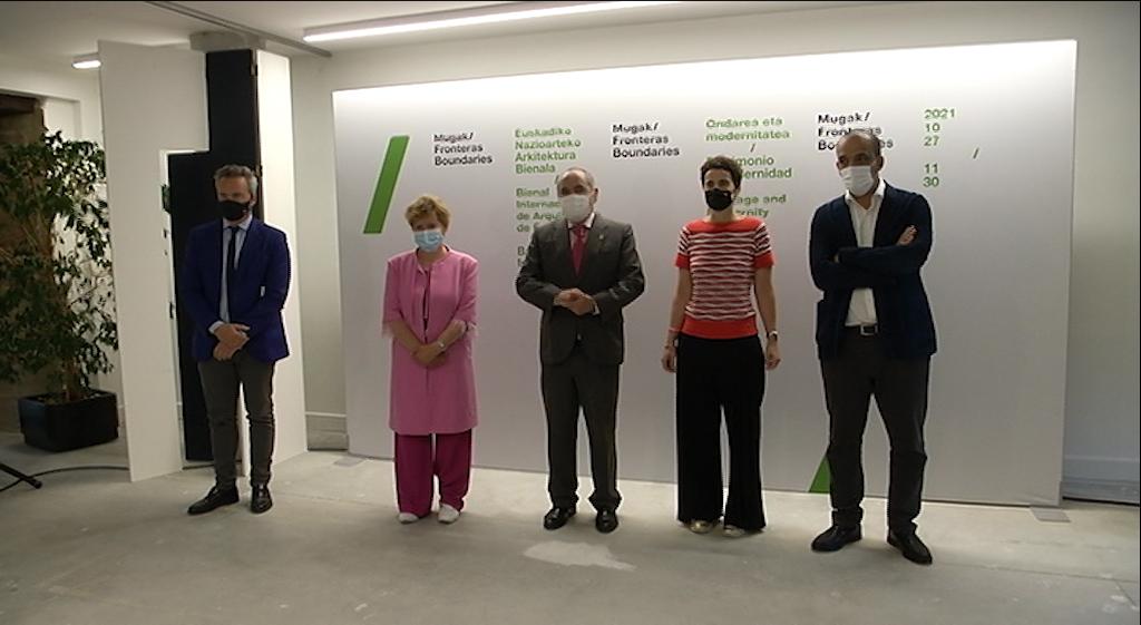 La tercera edición de la Bienal Internacional de Arquitectura de Euskadi MUGAK abrirá exposiciones en las tres capitales vascas [9:17]