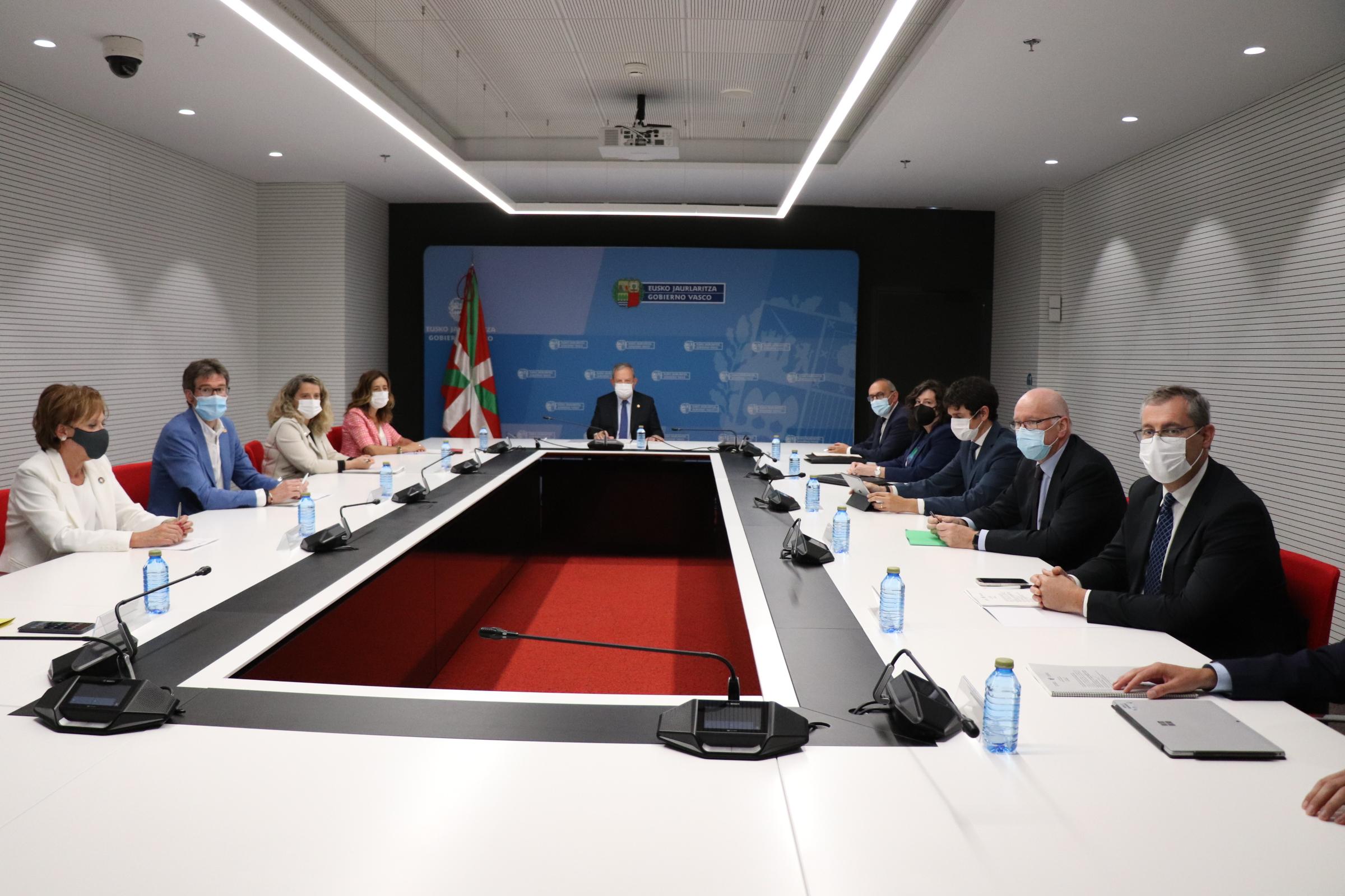 Reunión del Consejo Vasco de Finanzas Públicas [53:22]
