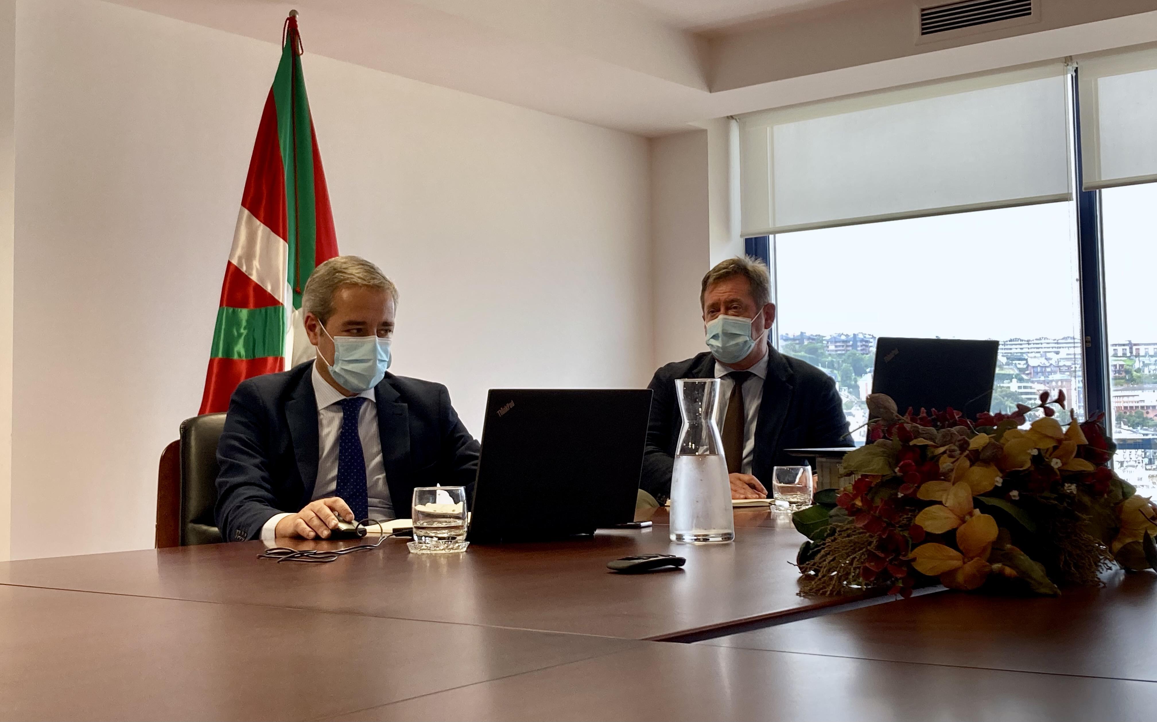 El Gobierno Vasco rechaza la manera en la que el Gobierno de España está gestionando los fondos europeos en materia cultural [1:10]