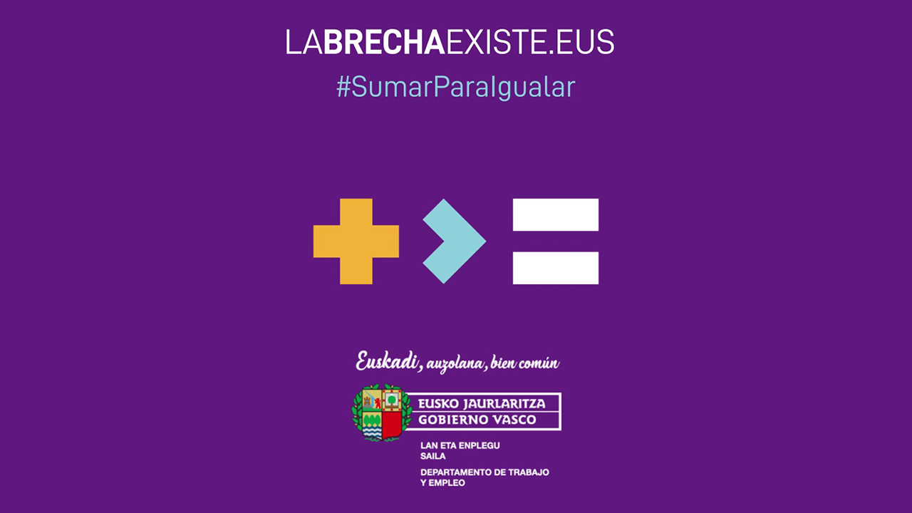 En Euskadi la brecha salarial existe, y hay que SUMAR para IGUALAR [0:20]