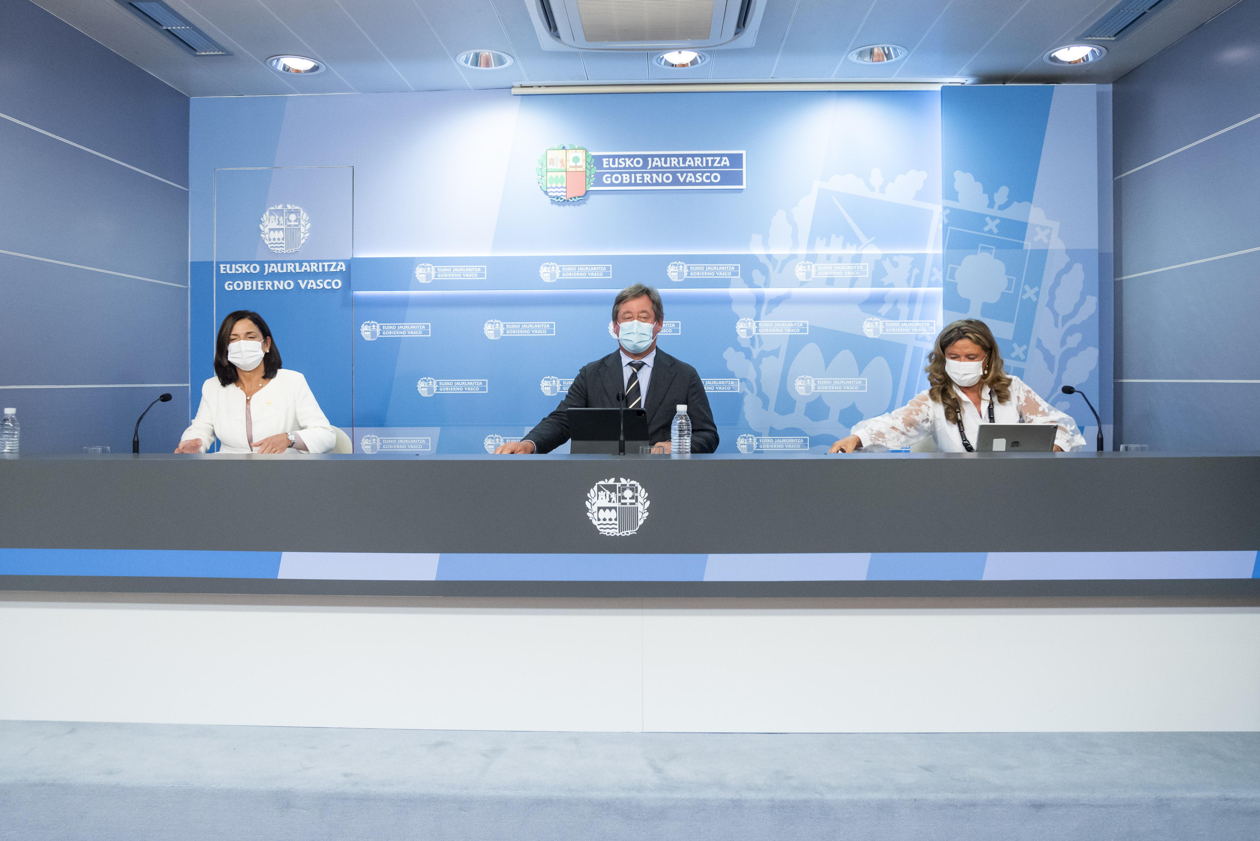 """El Gobierno Vasco presenta el plan Udaberri 2024 para la convivencia tras finalizar un """"intenso proceso de contraste"""" e incluir aportaciones de diferentes colectivos [57:30]"""