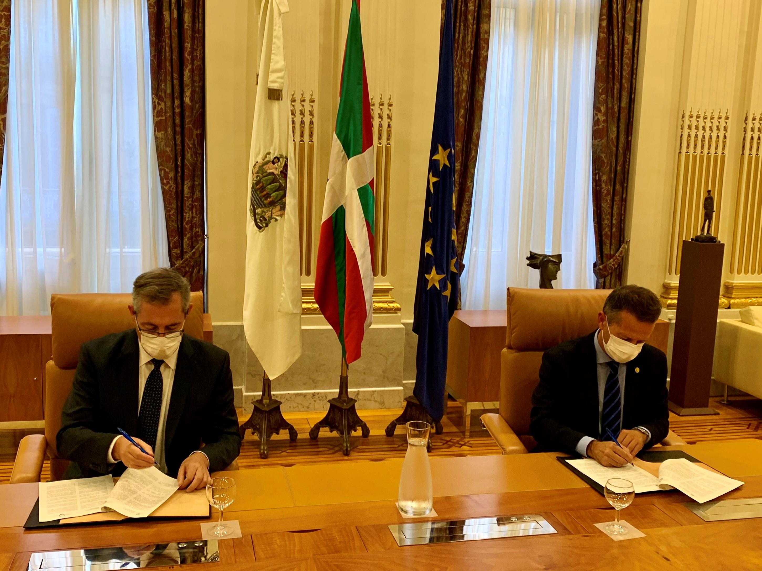Diputación Foral de Gipuzkoa y Gobierno Vasco colaborarán para desarrollar un Polo de Tecnologías Cuánticas en Gipuzkoa [2:27]