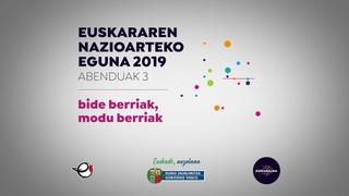 Euskararen nazioarteko eguna 2019 eu